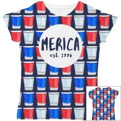 Drunk American Girl