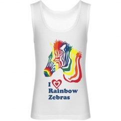 I Heart Rainbow Zebras