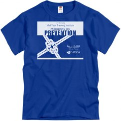 17th Annual Mid-Year Mens T-Shirt- Royal Blue