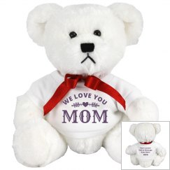 Custom Mother's Day Bear From Kids
