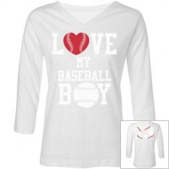 Love My Baseball Boy