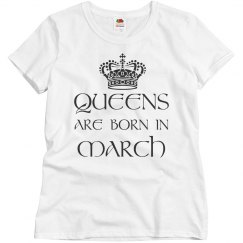 Queens are born in
