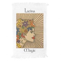 Latina Magic Hand towel- Jazzy Art