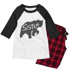 Youth Raglan Pajama Set