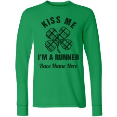 Kiss Me I'm A Runner St Patricks