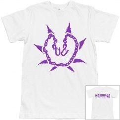 White & Purple T