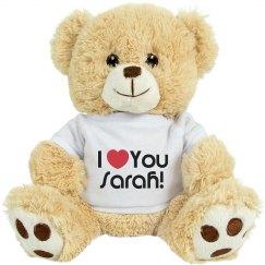 I Love You Sarah