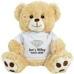 Jon's Wifey Teddy Bear