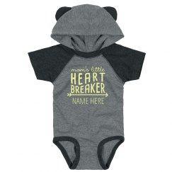 Custom Mommy's Heartbreaker Bodysuit