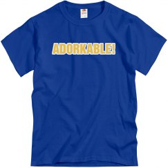 Adorkable Text Tee