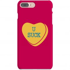 U Suck Heart Case