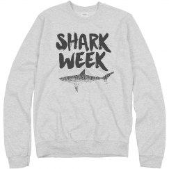 Shark Week Pullover