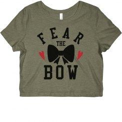 Cheer Neon Fear The Bow