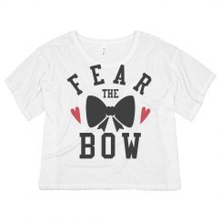 Fear The Bow Cheerleading Tee