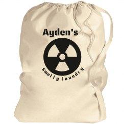 Ayden's laundry bag