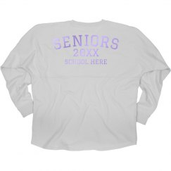 Customizable Seniors Hooded Jersey
