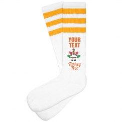 Turkey Trot Team Socks
