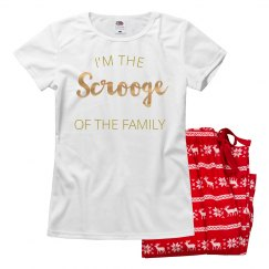 I'm Definitely This Family's Scrooge