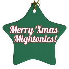Mightonic Xmas Ornament