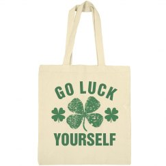 St Patricks Day Tote Bag Luck