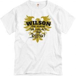 Wilson. The Legend