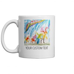 Custom Kids Art Mug