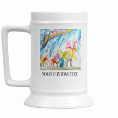16oz Ceramic Stein