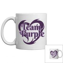 Team Purple Coffee Mug