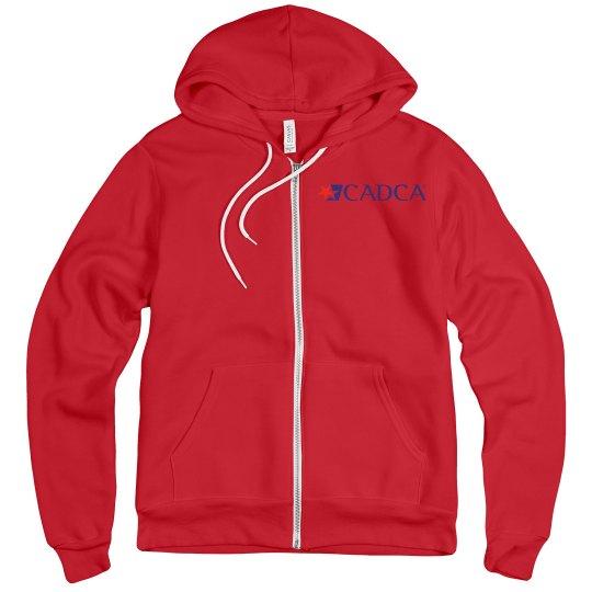 CADCA Adult Unisex Hoodie- Red