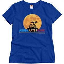 Aruba After Dark Excl By KAD | Womens Crew Neck RF Tee