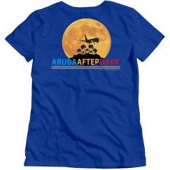 Aruba After Dark Excl By KAD   Womens Crew Nck Bck Logo
