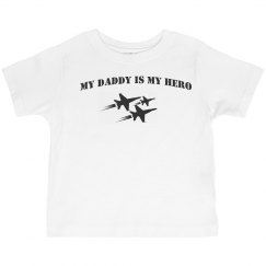 Toddler Military Daddy Hero Tee