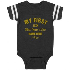 Custom Baby's First New Year's Eve