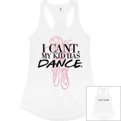 Custom Name Dance Mom Tank