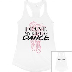 Custom Name Dance Mom Tank