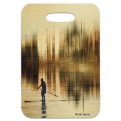Cast away (luggage tag)