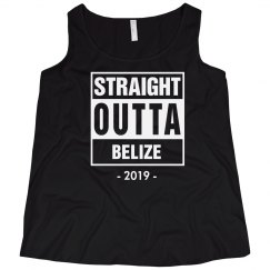 Straight Outta Belize Shirt