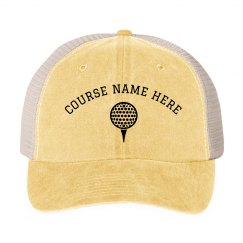 Custom Golf Course Sports Hat
