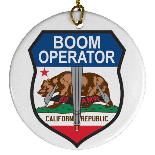 Cali Boom Ornament