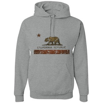 California Republic Sweater (Gold Bar) Stressed Look