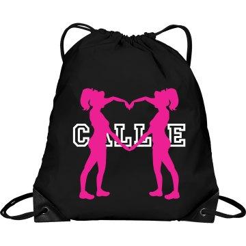 Callie cheer bag