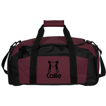Callie. Cheerleader bag
