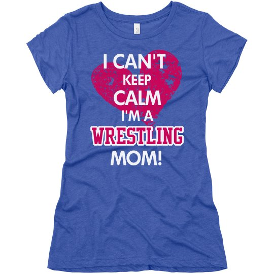 Calm Wrestling Mom
