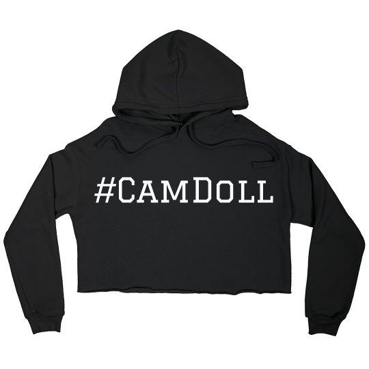 CamGirlDollhouse Crop Hoodie