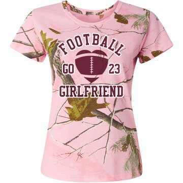 Camo Football Girlfriend