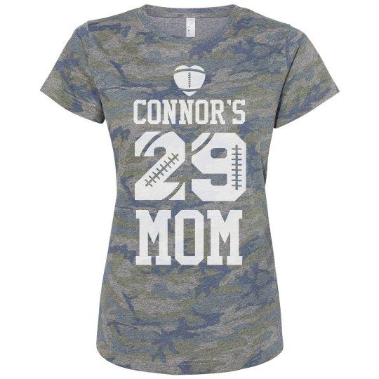 Camo Football Mom