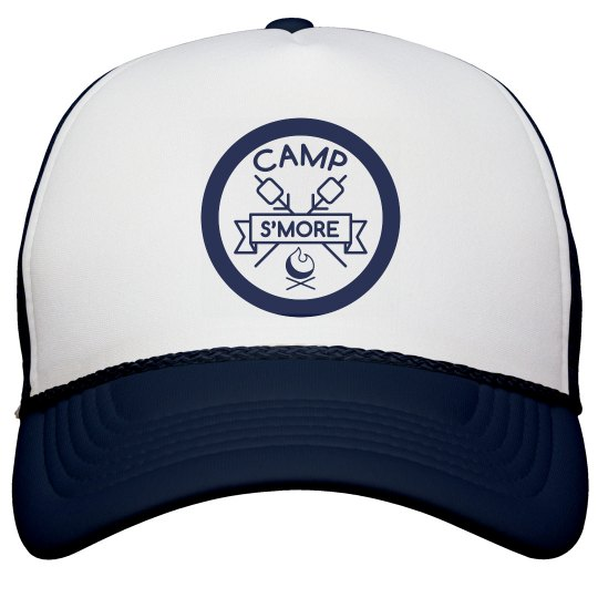 Camp S'More Badge Hat