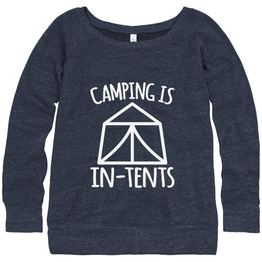 Camping Is In-Tents Sweater