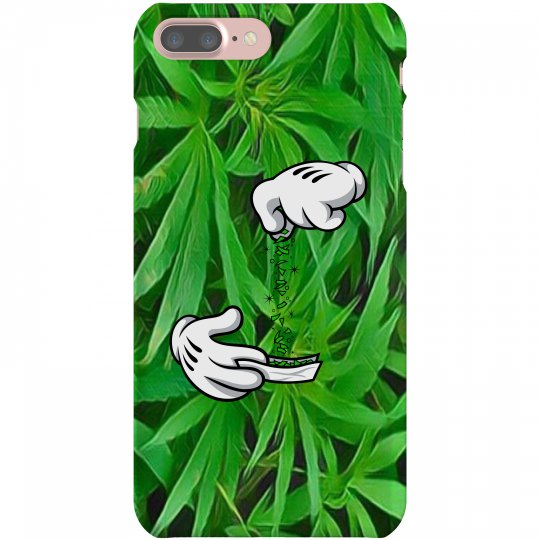 Cannabis Cartoon Hands iPhone 7 Plus case