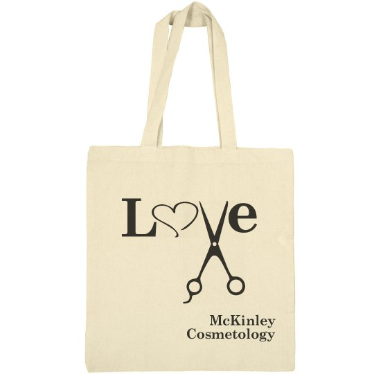 Canvas Love Bag - Cosmetology